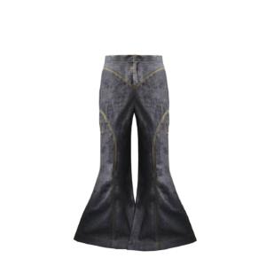 Denim Flared Pants