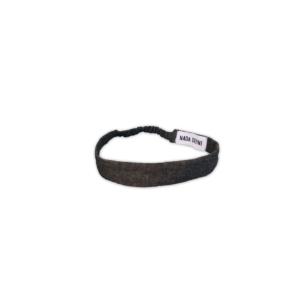 Black Denim Hairband
